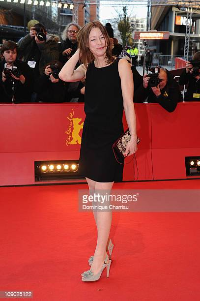 German actress Jenny Schily attends the 'Schlafkrankheit' Premiere during day three of the 61st Berlin International Film Festival at Berlinale...