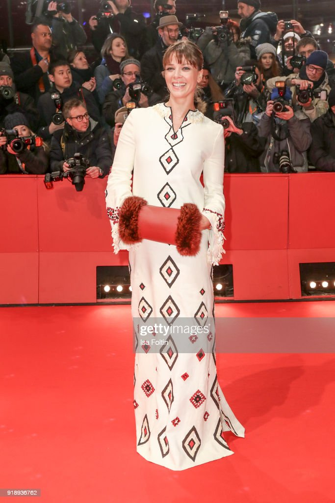 German actress Jessica Schwarz attends the Opening Ceremony & 'Isle of Dogs' premiere during the 68th Berlinale International Film Festival Berlin at Berlinale Palace on February 15, 2018 in Berlin, Germany.