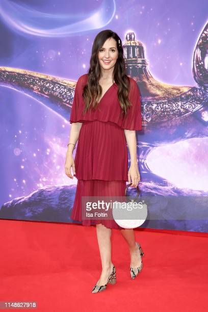 """German actress Johanna Klum attends the movie premiere of """"Aladdin"""" at UCI Luxe Mercedes Platz on May 11, 2019 in Berlin, Germany."""
