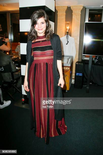 German actress Joyce Ilg during the Burda Style Lounge on the occasion of the German Film Ball on January 20 2018 in Munich Germany