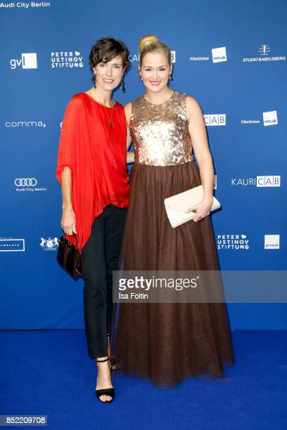 German actress Julia Bremermann and German actress Judith Hoersch during the 6th German Actor Award Ceremony at Zoo Palast on September 22 2017 in...