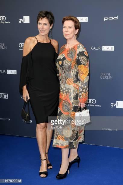 German actress Julia Bremermann and German actress Marion Kracht at the award ceremony of the Deutscher Schauspielpreis at Zoo Palast on September 13...