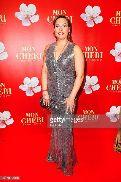 German actress Julia Dahmen attends the Mon Cheri Barbara Tag at Postpalast on December 2 2016 in Munich Germany
