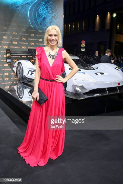 German actress Julia Dietze arrives for the 20th GQ Men of the Year Award at Komische Oper on November 8 2018 in Berlin Germany