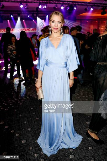 German actress Julia Dietze attends the Medienboard BerlinBrandenburg Reception on the occasion of the 69th Berlinale International Film Festival at...