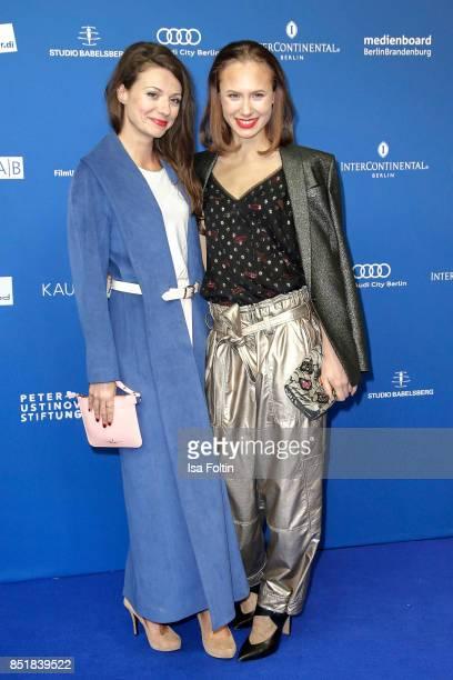 German actress Julia Hartmann and German actress Alina Levshin during the 6th German Actor Award Ceremony at Zoo Palast on September 22 2017 in...