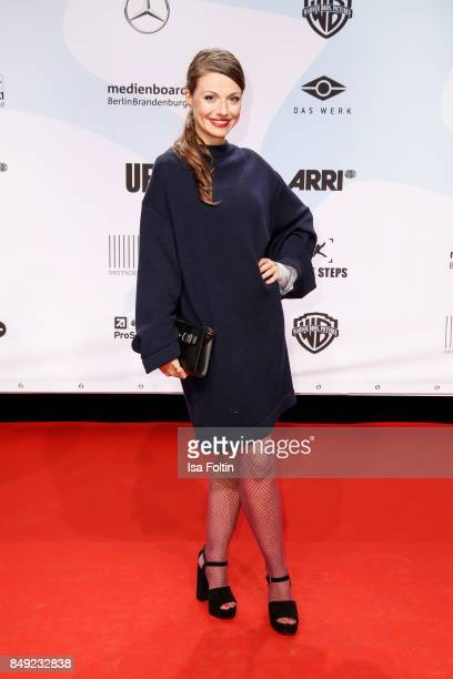 German actress Julia Hartmann attends the First Steps Awards 2017 at Stage Theater on September 18 2017 in Berlin Germany