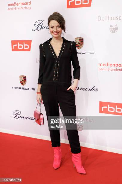 German actress Julia Hartmann attends the Medienboard BerlinBrandenburg Reception on the occasion of the 69th Berlinale International Film Festival...