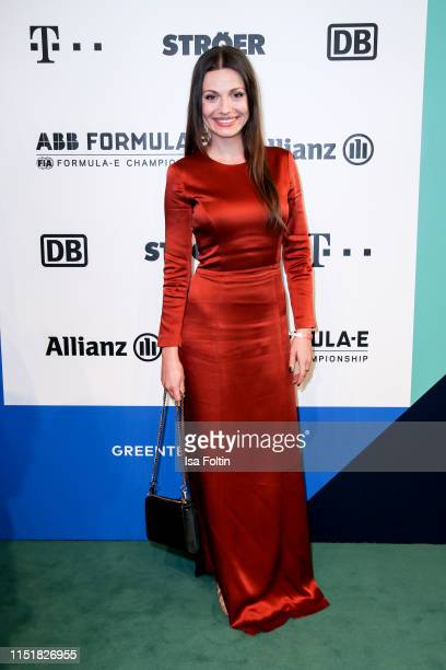 German actress Julia Hartmann during the Green Award as part of the Greentech Festival at Tempelhof Airport on May 24 2019 in Berlin Germany The...