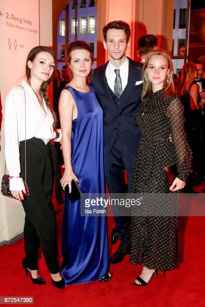 German actress Julia Hartmann German actress Alice Dwyer with her boyfriend German actor Sabin Tambrea and German actress Sonja Gerhardt attend the...