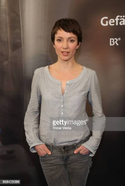 German actress Julia Koschitz attends the 'Perfect Easter Table' in favor of the Heinz Hoenig CharityOrganisation in the Alstertal shopping center on...