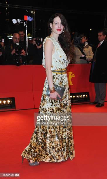 German actress Julia Malik attends the 'Wer Wenn Nicht Wir' Premiere during day eight of the 61st Berlin International Film Festival at Berlinale...