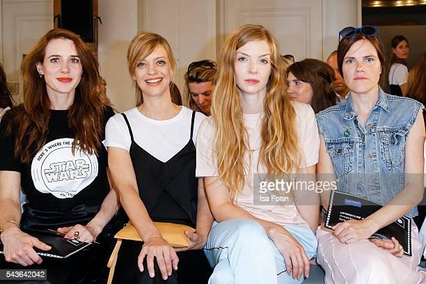 German actress Julia Malik, german actress Heike Makatsch, german actress Pheline Roggan and german actress Fritzi Haberlandt attend the Malaikaraiss...