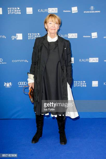 German actress Jutta Hoffmann during the 6th German Actor Award Ceremony at Zoo Palast on September 22, 2017 in Berlin, Germany.