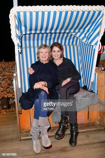 German actress Jutta Speidel and german actress Anja Kling attend the 'Baltic Lights' charity event on March 10, 2017 in Heringsdorf, Germany. Every...