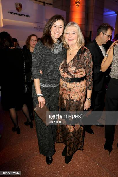 German actress Jutta Speidel and her daughter Antonia Speidel attend the Blue Hour Party hosted by ARD during the 69th Berlinale International Film...