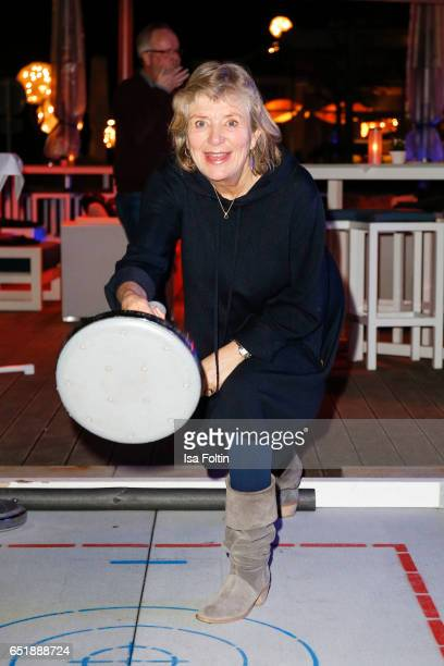 German actress Jutta Speidel attend the 'Baltic Lights' charity event on March 10 2017 in Heringsdorf Germany Every year German actor Till Demtroder...