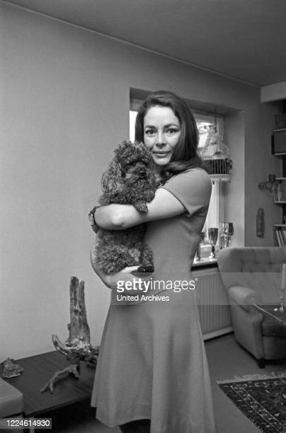 German actress Karin Dor Germany 1960s