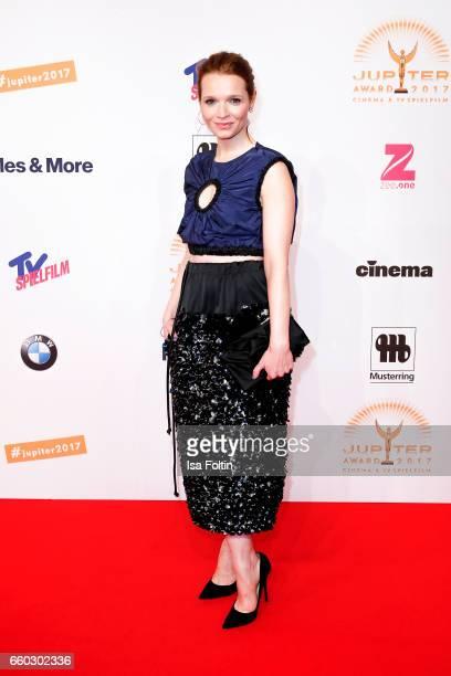 German actress Karoline Herfurth attends the Jupiter Award at Cafe Moskau on March 29 2017 in Berlin Germany
