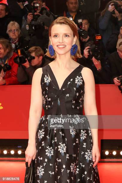 German actress Karoline Schuch attends the Opening Ceremony 'Isle of Dogs' premiere during the 68th Berlinale International Film Festival Berlin at...