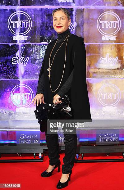 German actress Katerina Jacob attends 'Games of Thrones' Preview Event of TNT Serie and Sky at Hotel Bayerischer Hof on October 27, 2011 in Munich,...