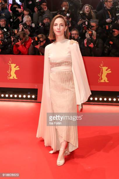 German actress Katharina Schuettler attends the Opening Ceremony 'Isle of Dogs' premiere during the 68th Berlinale International Film Festival Berlin...