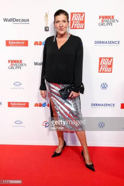 German actress Katy Karrenbauer attends the annual Goldene Bild der Frau award on October 23 2019 in Hamburg Germany