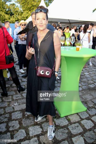 German actress Katy Karrenbauer attends the summer party of the German Producers Alliance on June 25 2019 in Berlin Germany