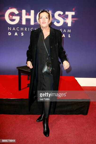 German actress Katy Karrenbauer during the premiere of 'Ghost Das Musical' at Stage Theater on December 7 2017 in Berlin Germany