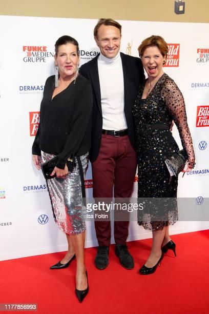 German actress Katy Karrenbauer German actor Bernhard Bettermann and German actress Marion Kracht attend the annual Goldene Bild der Frau award on...