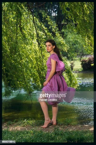 German actress Katya Berger plays the title role in Israeli director Dan Wolman's 1982 costume drama Nana The Italian film was released as Nana La...
