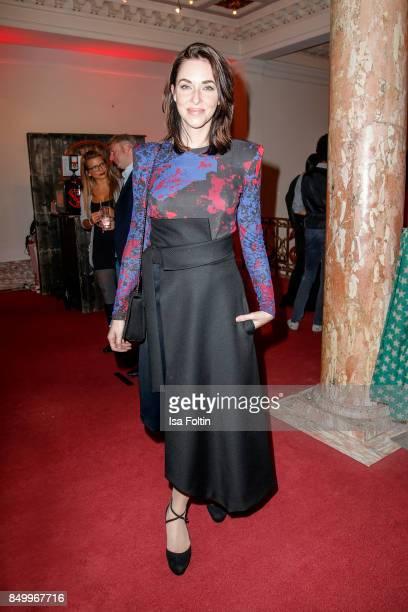 German actress Kim Riedle attends the First Steps Awards 2017 at Stage Theater on September 18 2017 in Berlin Germany