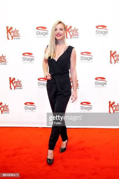 German actress KimSarah Brandts attends the 'Kinky Boots' Musical Premiere at Stage Operettenhaus on December 3 2017 in Hamburg Germany