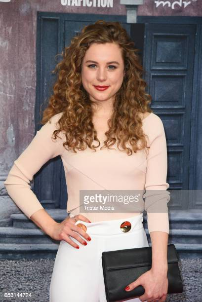 German actress Klara Deutschmann attends the 'Charite' Berlin Premiere on March 13 2017 in Berlin Germany