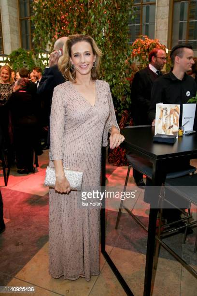 German actress Kristin Meyer attends the Lola German Film Award reception at Palais am Funkturm on May 3 2019 in Berlin Germany