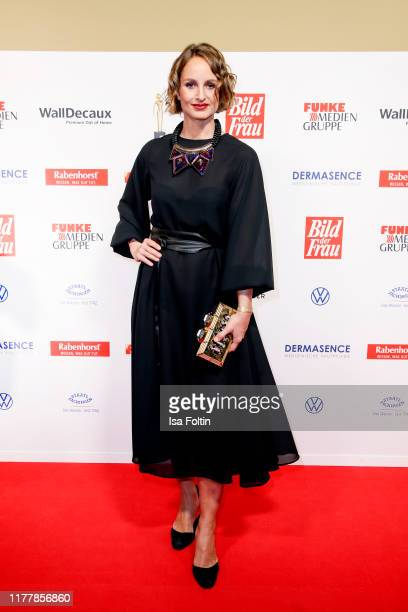 German actress Lara Joy Koerner attends the annual Goldene Bild der Frau award on October 23 2019 in Hamburg Germany