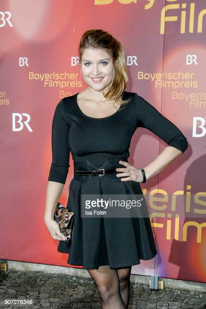 German actress Lara Mandoki attends the Bayerischer Filmpreis 2017 at Prinzregententheater on January 21, 2018 in Munich, Germany.