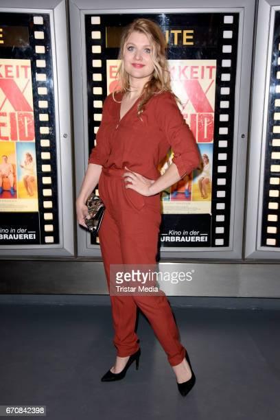 German actress Lara Mandoki attends the screening of the film 'Einsamkeit und Sex und Mitleid' on April 20, 2017 in Berlin, Germany.