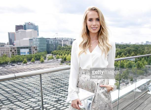 German actress LaraIsabelle Rentinck attends the Thomas Sabo Press Cocktail during the MercedesBenz Fashion Week Berlin Spring/Summer 2017 at China...