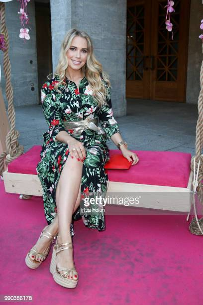 German actress LaraIsabelle Rentinck during the Bunte New Faces Night at Grace Hotel Zoo on July 2 2018 in Berlin Germany