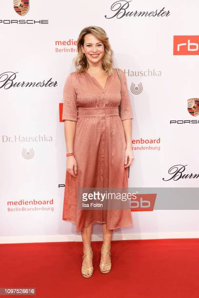 German actress Laura Osswald attends the Medienboard BerlinBrandenburg Reception on the occasion of the 69th Berlinale International Film Festival at...