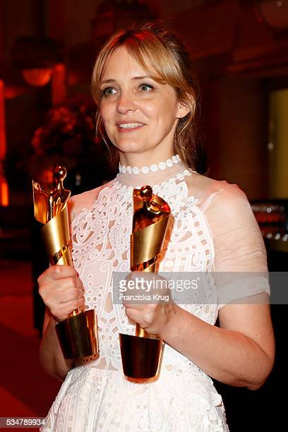 German actress Laura Tonka during the Lola German Film Award 2016 on May 27 2016 in Berlin Germany