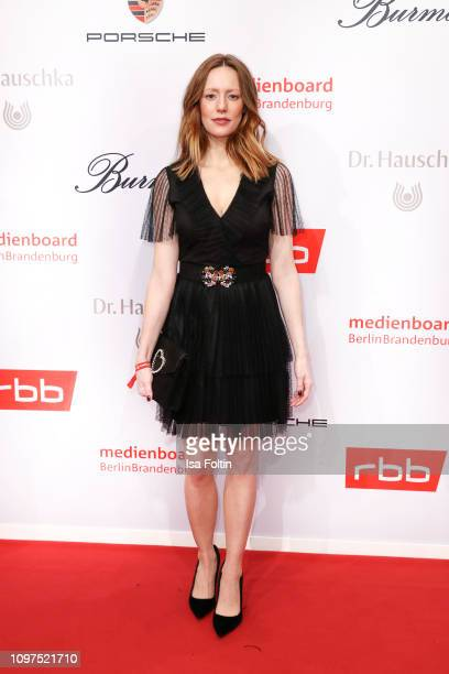 German actress Lavinia Wilson attends the Medienboard BerlinBrandenburg Reception on the occasion of the 69th Berlinale International Film Festival...