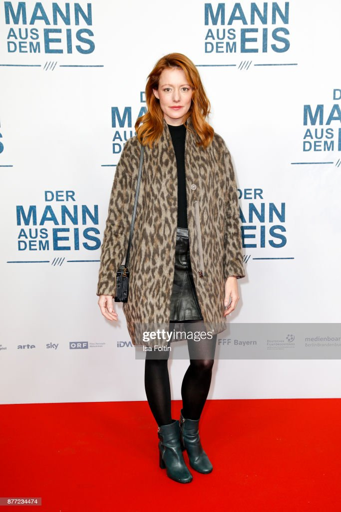 German actress Lavinia Wilson attends the premiere of 'Der Mann aus dem Eis' at Zoo Palast on November 21, 2017 in Berlin, Germany.