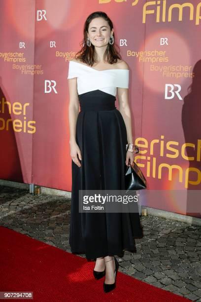German actress Lea van Acken attends the Bayerischer Filmpreis 2017 at Prinzregententheater on January 21 2018 in Munich Germany