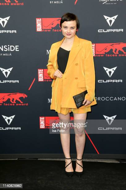 German actress Lena Urzendowsky attends the New Faces Award Film at Umspannwerk Alexanderplatz on May 2, 2019 in Berlin, Germany.