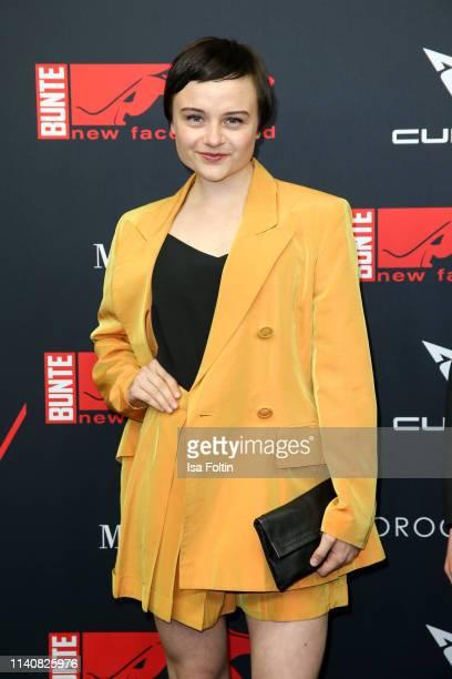 German actress Lena Urzendowsky attends the New Faces Award Film at Umspannwerk Alexanderplatz on May 2 2019 in Berlin Germany