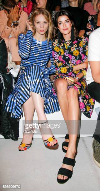 German actress Lilith Stangenberg and model Marie Nasemann attend the Bread Butter by Zalando 2017 Preview Event on June 8 2017 in Berlin Germany