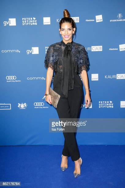 German actress Lilli Hollunder during the 6th German Actor Award Ceremony at Zoo Palast on September 22, 2017 in Berlin, Germany.