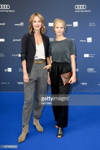 "German actress Lisa Bitter and guest at the award ceremony of the ""Deutscher Schauspielpreis"" at Zoo Palast on September 13, 2019 in Berlin, Germany."